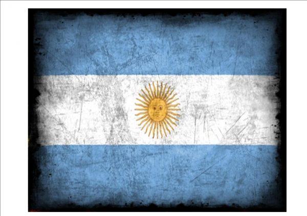 Argentina Flag Plaque