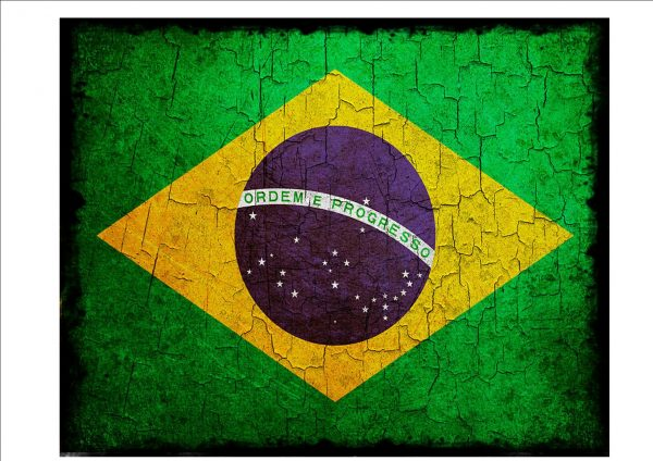 Brazilian Flag Sign