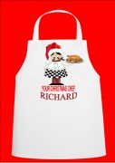 Personalised Chefs Christmas Apron