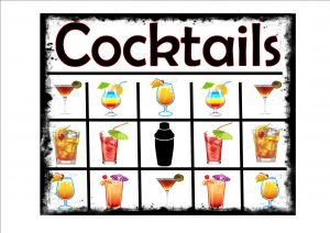 Cocktails Selection