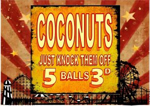 Coconuts – Just Knock Them Off Plaque