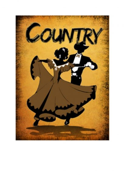 country music plaque sign