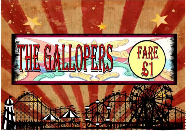 Vintage Carousel Sign Reproduction