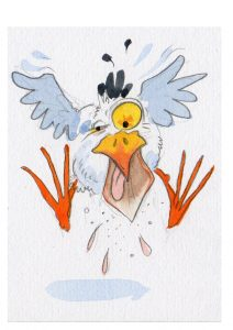 David Bailey Artwork AKA The Seagull Man