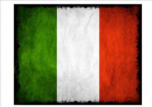 Italian Flag Sign