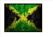 Jamaican Aged Flag Sign