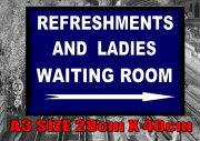 Railway Waiting Room Sign