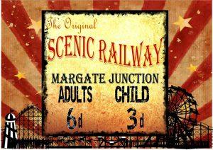 Scenic Railway Plaque