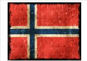 Norway Flag Sign