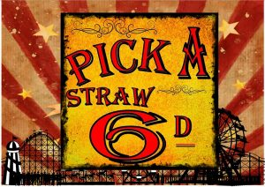 Pick A Straw Plaque