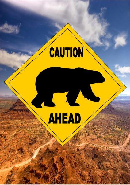 polar bear warning signs