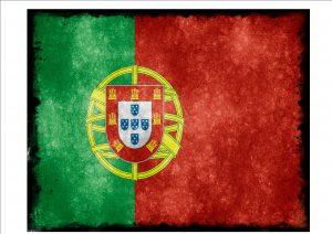 Portuguese Flag Sign