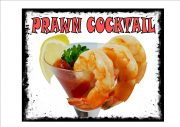 prawn cocktail sign