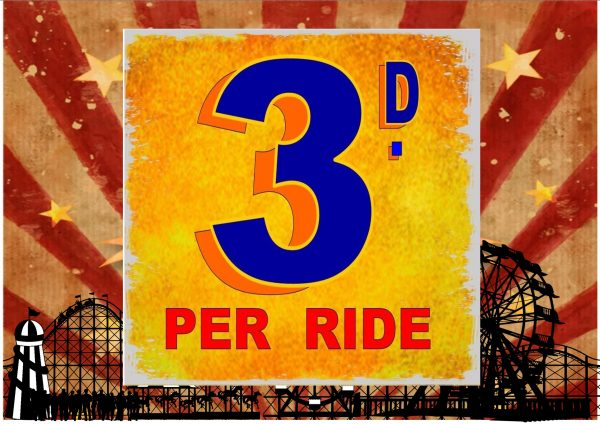 Fairground Ride Sign