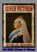 The Queen Victoria Pub Sign