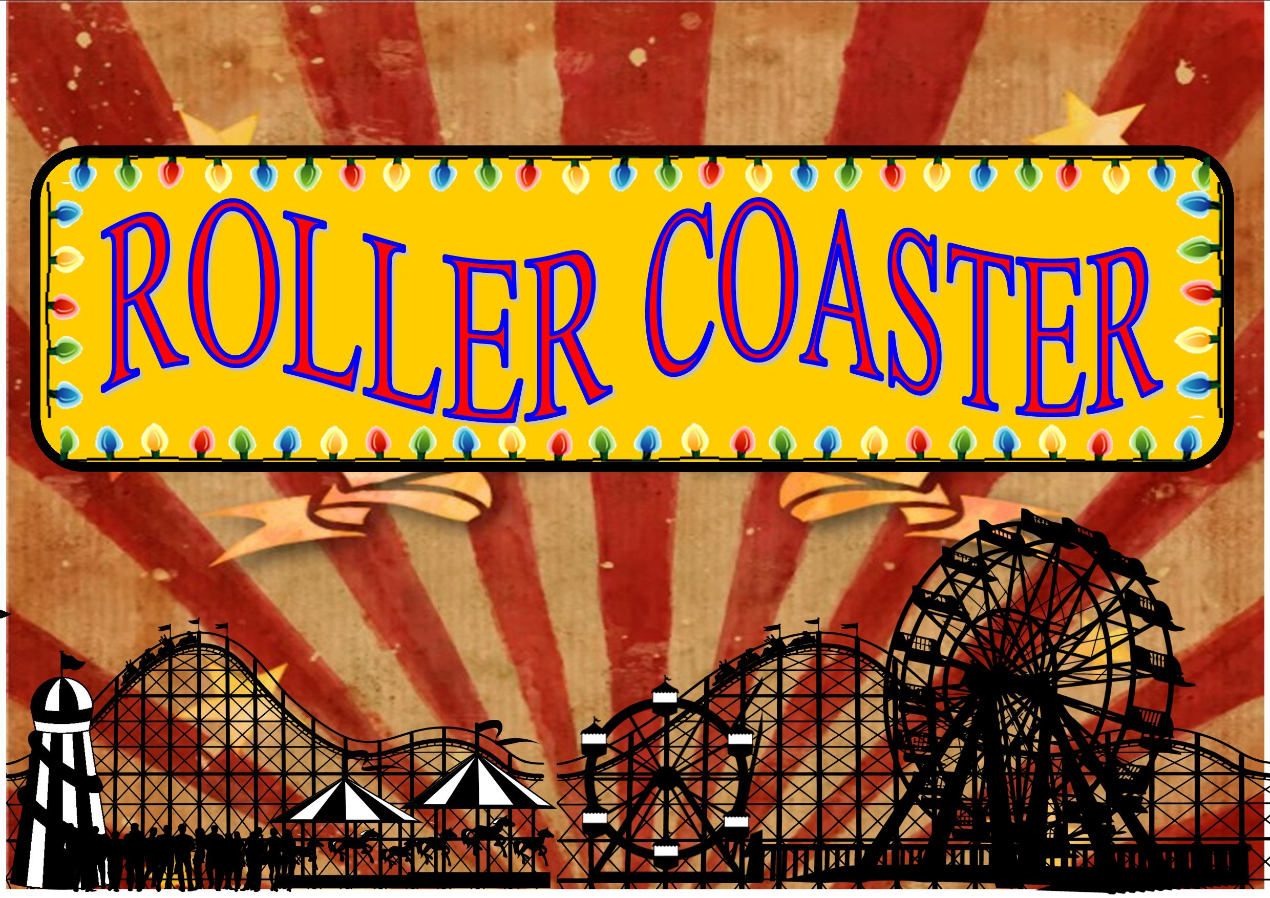 Image result for vintage roller coaster