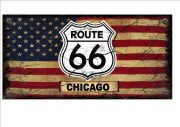 route 66 Chicago sign