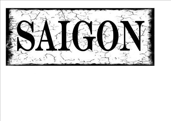 Saigon Clty Sign
