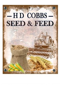 seed and feed sign