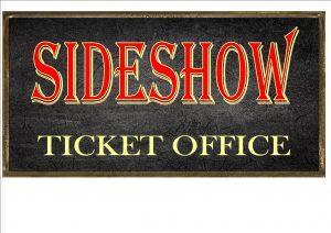 Vintage Sideshow Carnival Sign