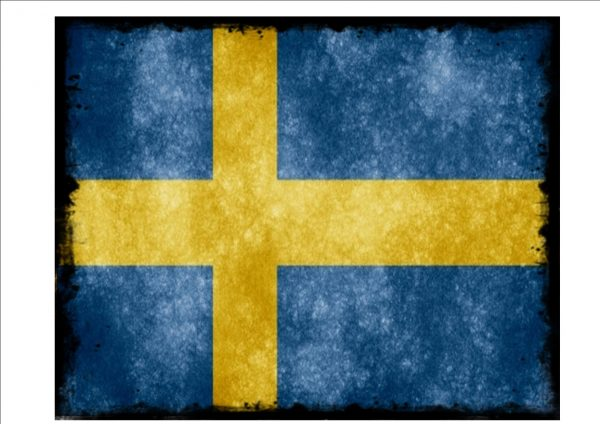 Swedish Flag Sign