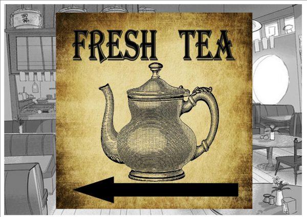 Fresh Tea Plaque