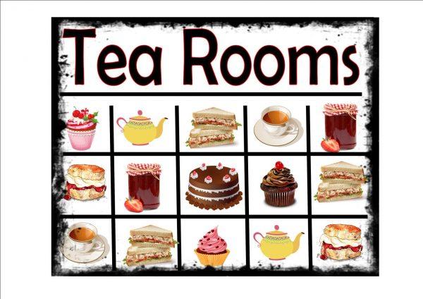 Tea Rooms Sign