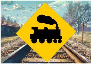 Train Line Sign