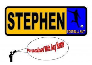 Football Number Plate