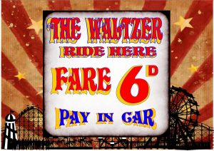 Waltzer Funfair Sign