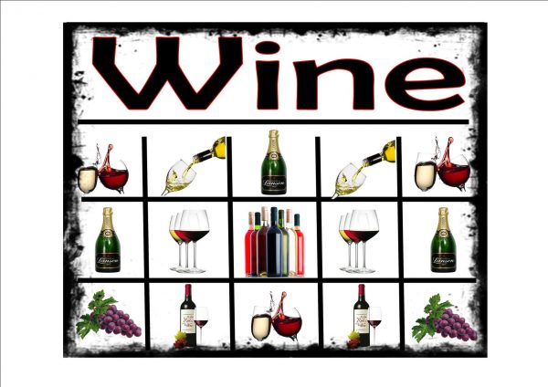Wine Selection Sign